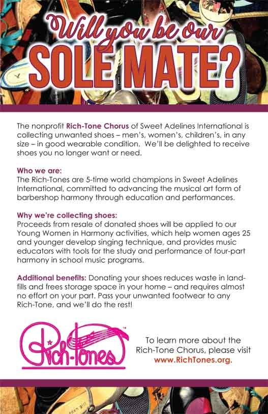 Rich-Tone Sole Mate Fundraiser